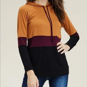 Staccato hooded sweater